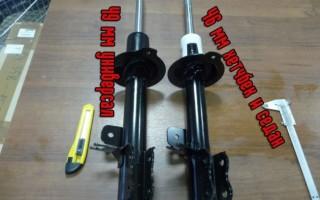 Замена передних стоек стабилизатора Chevrolet Lacetti