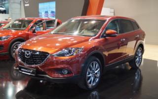 Mazda CX 9: технические характеристики