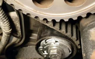 Веста ремень грм: когда менять чтобы не загнуло клапана