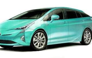 Фото новой Toyota Prius 2016 утекли в сеть?
