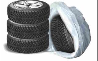Как хранить автомобильные шины?