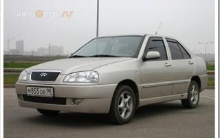 Технические характеристики автомобилей Chery