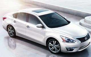 Обновленный Nissan Altima представили в Нью-Йорке