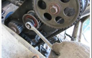 Как поменять ремень ГРМ на ВАЗ 2110?