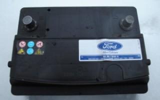 Замена аккумулятора на Форд Фокус 2: снимаем аккумулятор с Ford Focus 2 с фото и видео