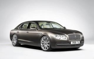 Bentley объявил российские цены на Continental Flying Spur