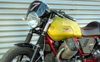 Moto Guzzi представил лимитированную серию V7 Verde Legnano