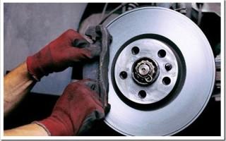 Как заменить тормозные диски?