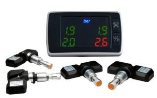 Как работают датчики давления шин?