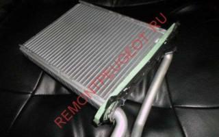 Как заменить радиатор печки Пежо 308, 408: ремонт и замена радиатора печки Peugeot 307