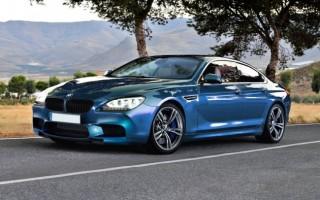 Немцы представили BMW M6 Gran Coupe