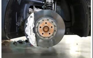 Ремонт тормозной системы Mercedes