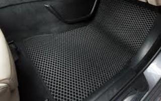 Преимущества современных автомобильных ковриков