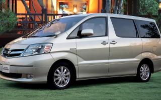 Toyota Alphard технические характеристики