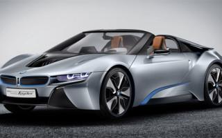 BMW i8 оставили без крышы