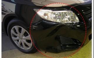 Как делается удаление вмятин без покраски на автомобиле?