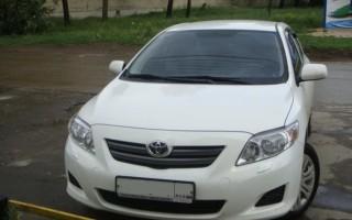 Передний и задний бампер Toyota Corolla