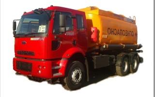 Особенности перевозок наливных грузов автоцистернами