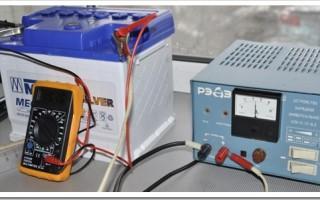 Как правильно зарядить авто аккумулятор зарядным устройством?