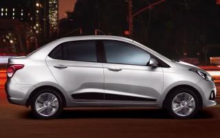 Hyundai Xcent готовится к обновлению