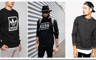 Как выбрать мужской свитшот и с чем его носить