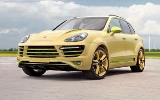 Московское тюнинг-ателье представило Porsche Cayenne похожий на лимон