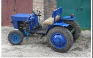 Какой двигатель поставить на трактор?
