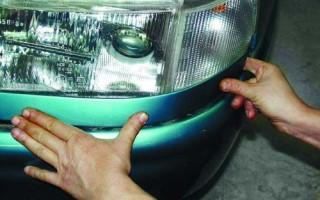Как поменять стекло на фаре