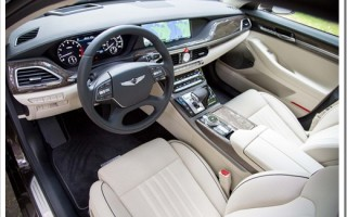 Hyundai Genesis g90: характеристики