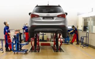 Услуги, которые вы можете получить в сервисе Hyundai porter