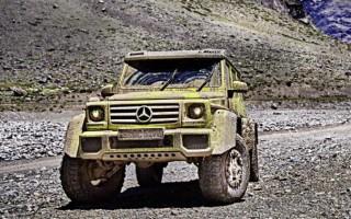 Mercedes-Benz представил концептуальный внедорожник G500 4×4²