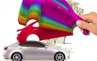 Как правильно красить автомобиль
