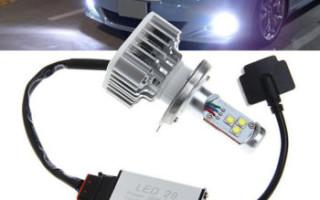 Преимущества светодиодных ламп для авто
