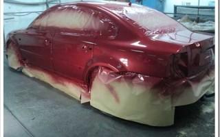Что нужно для покраски авто своими руками