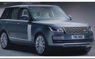 Модельный ряд автомобилей Range Rover 2019 года (Sport, Velar, Evoque)