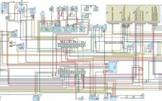 Система отопления газ 3110 змз 406 схема