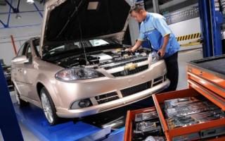 Ремонт автомобилей Chevrolet в Харькове