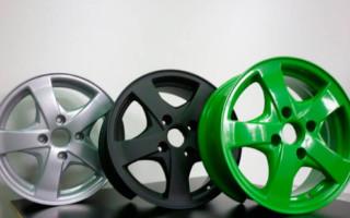 Преимущества порошкового окрашивания автомобильных дисков