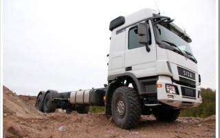 Современные грузовики Sisu