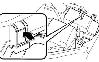 Предохранители Мазда 6 GG: где блоки, схемы предохранителей Mazda 6, бензонасоса, омывателя