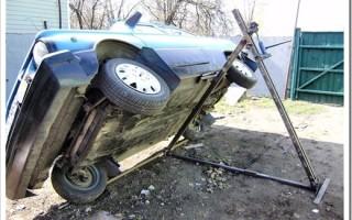 Как сделать подъемник для авто?