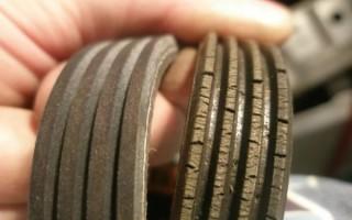 Замена приводного ремня на Рено Логан и роликов: схема и инструкция