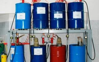 Виды маслосменного оборудования для станций ТО