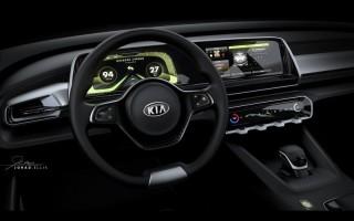 Kia раскрыла название Telluride и цифровую панель приборов
