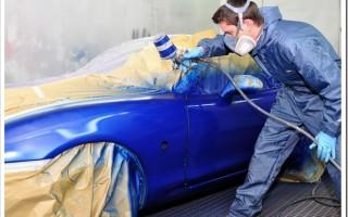 Этапы работ при покраске автомобиля