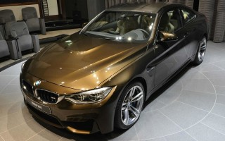 Уникальный BMW M4 добрался до Абу-Даби