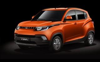 Mahindra KUV100 выглядит как игрушечная
