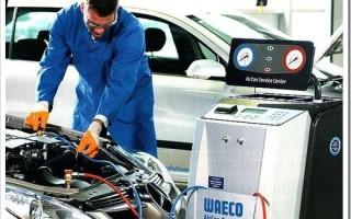Чем заправляют кондиционер в машине?