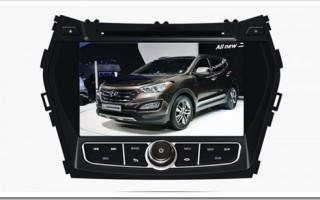 Штатные головные устройства для Hyundai Santa Fe 2012-2016.