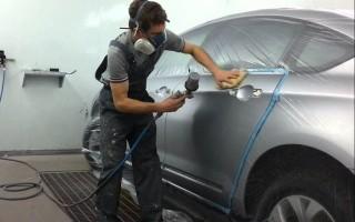 Как перекрасить машину?